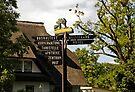 MVP85 Tourist sign post, Prerow, Germany. by David A. L. Davies