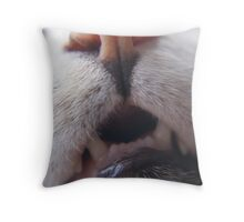 Up Nose And Personal Throw Pillow