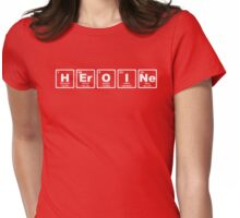 Heroine - Periodic Table Womens Fitted T-Shirt