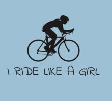 Ride Like A Girl by Geoff Pavey