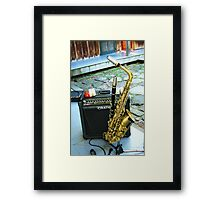 Dexter's Golden Horn ~ For Sir Michael Of Oxley Framed Print