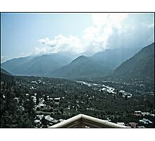 NAGGAR TOWN VIEW Photographic Print