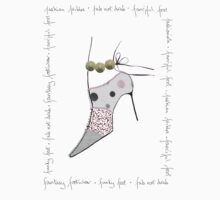 Fanciful Footwear ... fab not drab by Amanda Latchmore