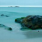 The blue light of night - Sandvesanden by Algot Kristoffer Peterson