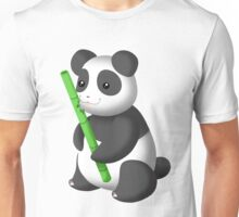 Cute PandaPiddy Unisex T-Shirt