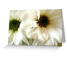 Deux Fleurs ^ Greeting Card