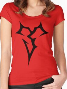Zanarkand Abes_black Women's Fitted Scoop T-Shirt