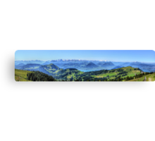 Mt Rigi HDR Panorama Canvas Print