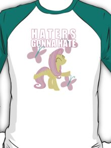 Fluttershy and butterflies T-Shirt