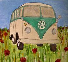 Classic VW Splitty by Bethany Olechnowicz