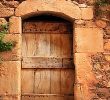 Provencal Door by Inge Johnsson