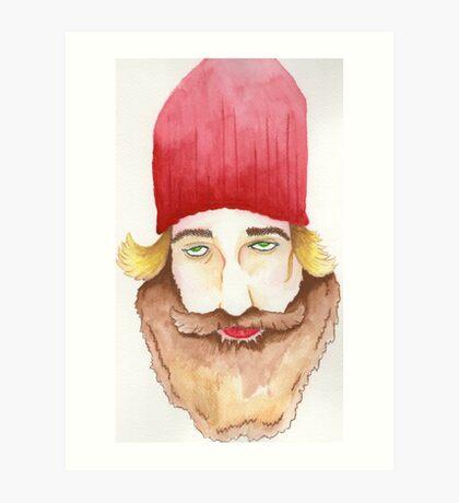 Red Beard Art Print