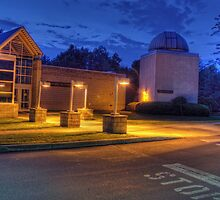 Bell Atlantic Science Building and Friedman Observatory by Aaron Campbell