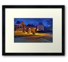 Bell Atlantic Science Building and Friedman Observatory Framed Print