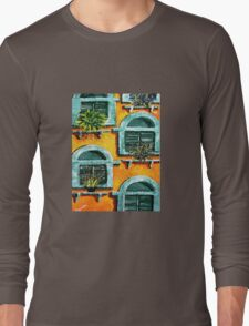 Green Shutters Long Sleeve T-Shirt