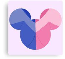 Aurora Hidden Mickey Canvas Print