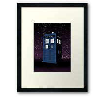 The Tardis' Secret Framed Print