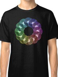 Ring of Vinyl LP Records - Metallic - Rainbow Classic T-Shirt