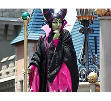 Maleficent DAWM Photographic Print