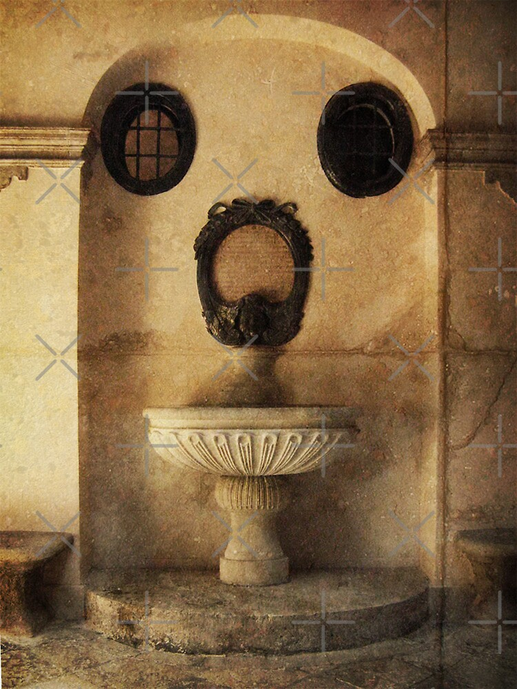 Holy Water Font by Maria  Gonzalez