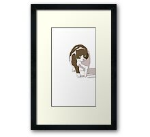 In from the Hunt Framed Print