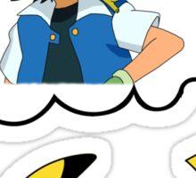 Dreaming Pikachu Sticker