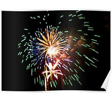 4th of July Fireworks  Poster