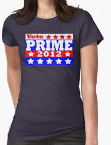 Vote Prime 2012 Womens Fitted T-Shirt