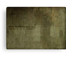 Fundacion Canvas Print
