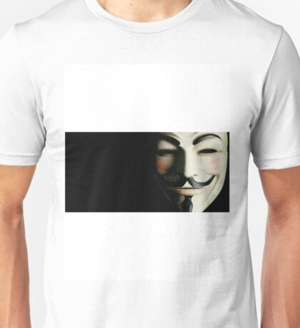 mask vendetta Unisex T-Shirt