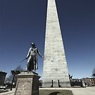Bunker Hill Monument by Michelle Callahan