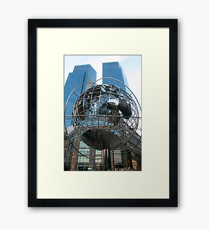 the other two Towers.. of NYC.. Framed Print
