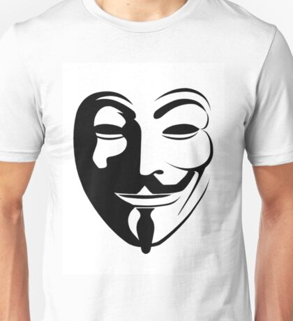 mask 1 vendetta Unisex T-Shirt