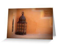 Lonley Lantern Greeting Card