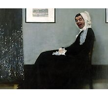 Whistler's Mother Photographic Print