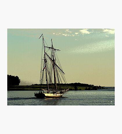 Homeward Through Calm Waters Photographic Print