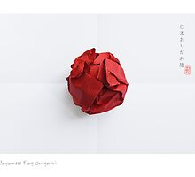 Japanese Origami Flag by 73553