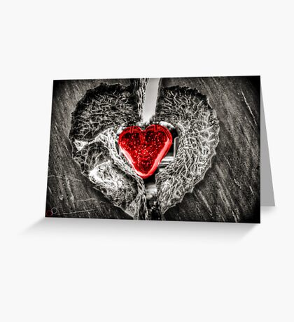 Heart of Rememberance Greeting Card