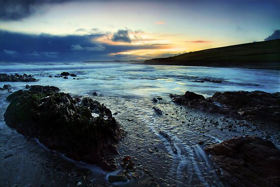 Ballycroneen Sunset I by Robert Karreman