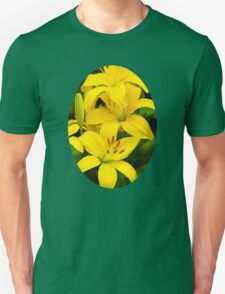 Yellow Lilies Unisex T-Shirt