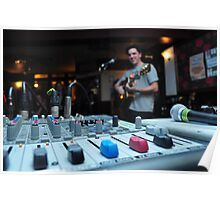 Mixing Desk Poster