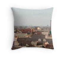 Moroccan Lanscape Throw Pillow