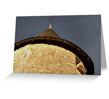 Turret Top Greeting Card