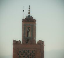 Mosque Tower by DuanesMind