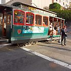 CABLE CAR 1 by Till  Baron von Grotthuss