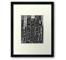 Paris, Les halles #2 Framed Print