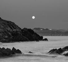 Church Bay Moonrise by Robert Karreman