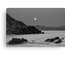 Church Bay Moonrise Canvas Print