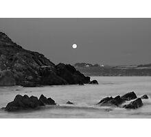 Church Bay Moonrise Photographic Print