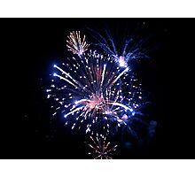 Fireworks 1 Photographic Print